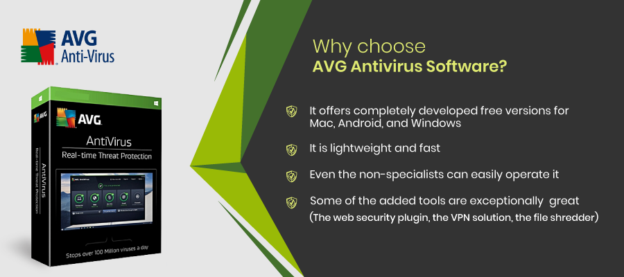 Why choose AVG Antivirus Software
