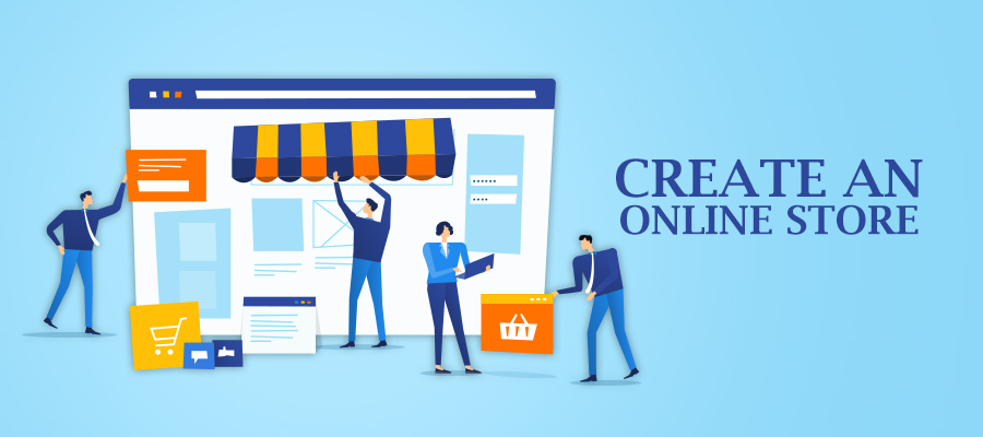 E-commerce Website-Builder for Small Business.