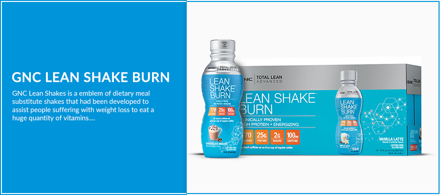 GNC Lean Shake Burn Review