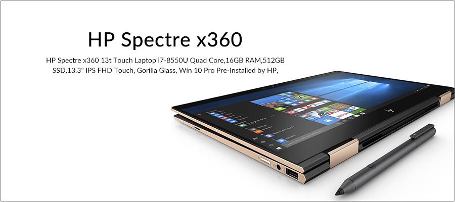 HP Spectre x 360