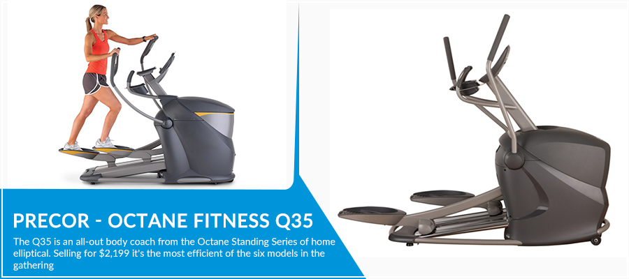 Precor - Octane Fitness Q35 Review
