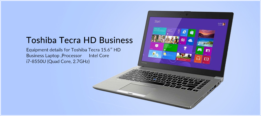 Toshiba Tecra HD Business