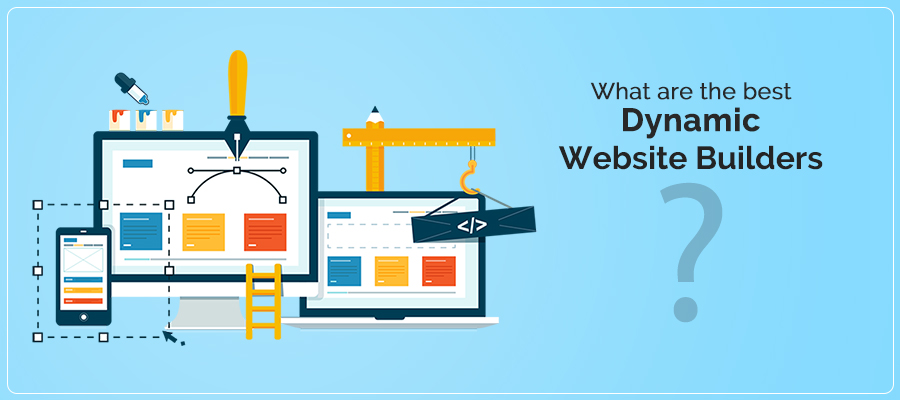 What are the best dynamic website builders