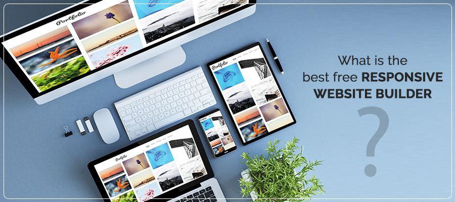 What is the best free responsive website builder