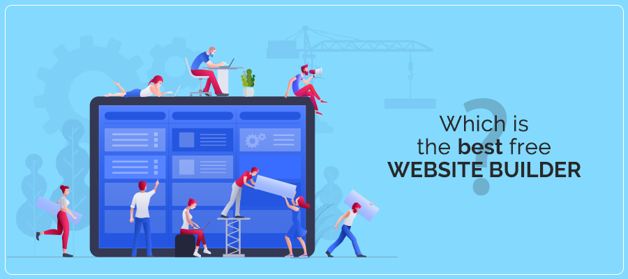 Which is the best free website builder