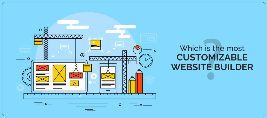 Which is the most customizable website builder