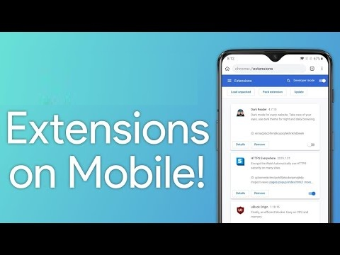 extension to your mobile browser