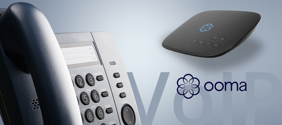Ooma VoIP Banner