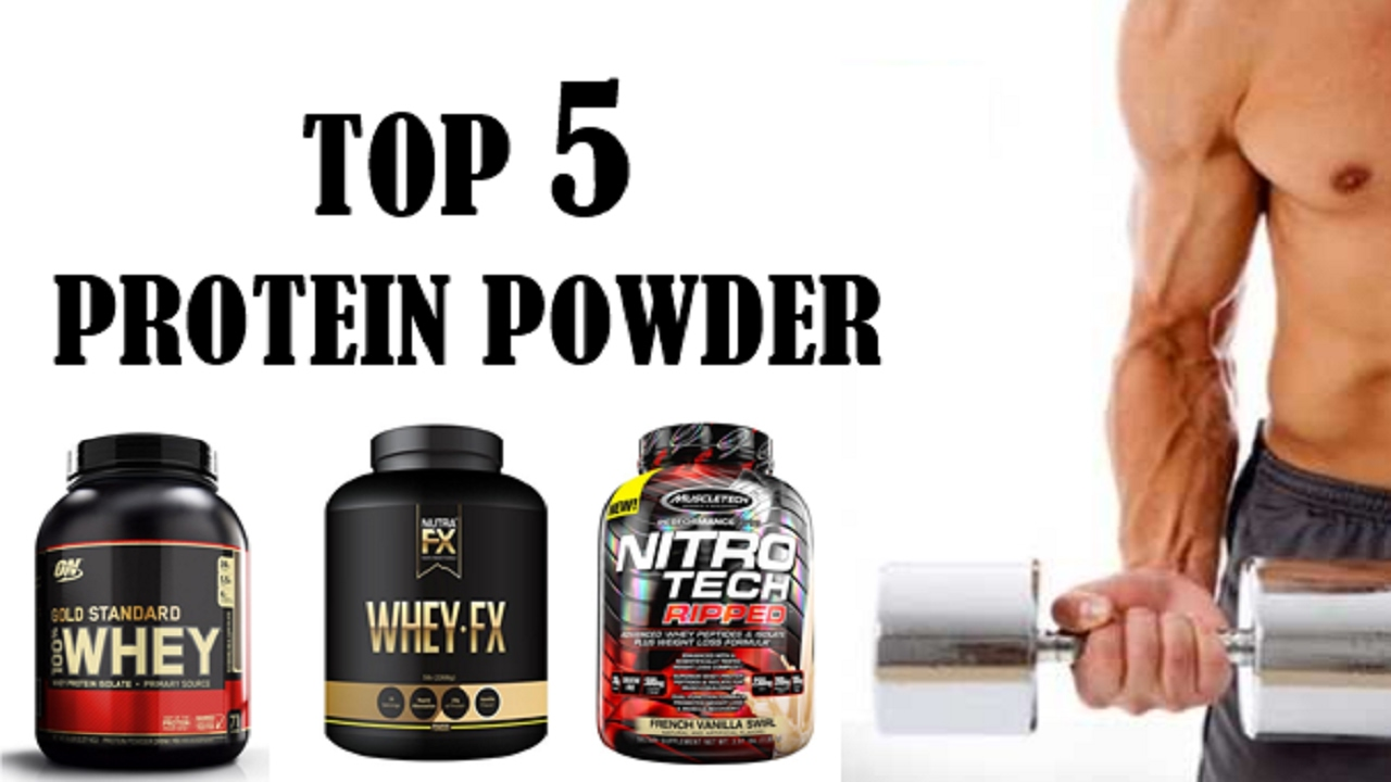 Top 5 Protein Powder for Muscle Building