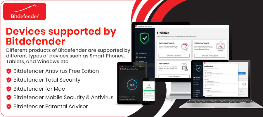 supported by Bitdefender