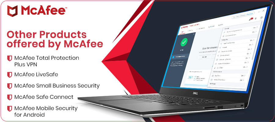 Other-Products offered by McAfee
