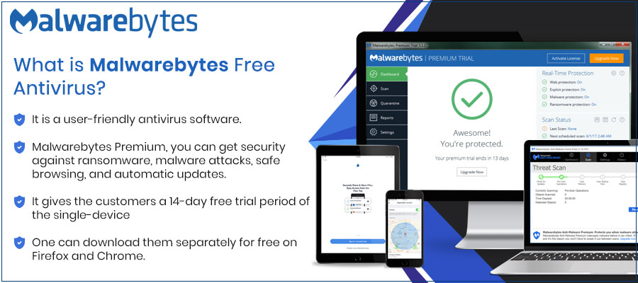 What is Malwarebytes Free Antivirus