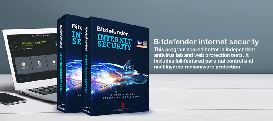 Bitdefender internet security software